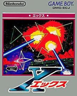 <i>X</i> (1992 video game) 1992 video game