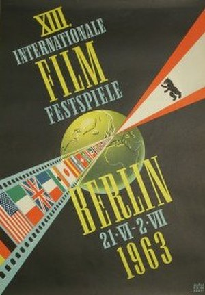 13th Berlin International Film Festival - Festival poster
