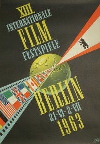13th Berlin International Film Festival - Festival poster