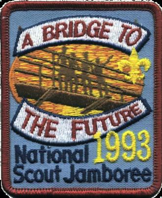 1993 National Scout Jamboree - 1993 National Scout Jamboree patch