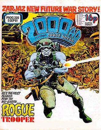 Rogue Trooper - Image: 2000AD228 Rogue Trooper