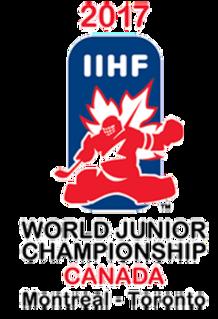 2017 World Junior Ice Hockey Championships 2017 edition of the World Junior Ice Hockey Championships