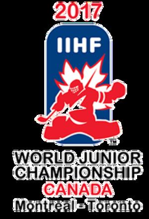 2017 World Junior Ice Hockey Championships - Image: 2017 WJHC logo