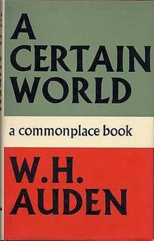 A Certain World - First UK edition