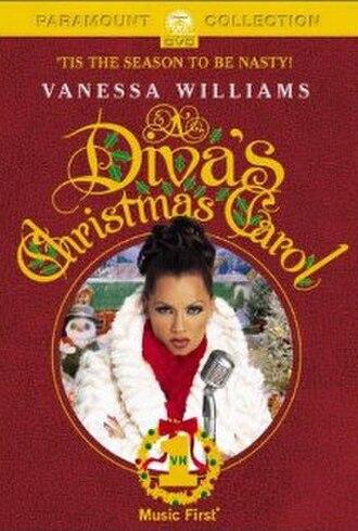 A Diva's Christmas Carol - DVD cover of A Diva's Christmas Carol