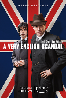 <i>A Very English Scandal</i> (TV series) British miniseries about Jeremy Thorpe