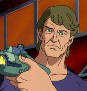 Abraham Whistler - Screenshot from Spider-Man: The Animated Series,