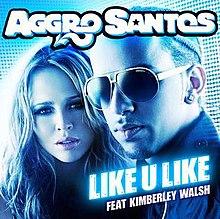 Aggro Santos featuring Kimberley Walsh — Like U Like (studio acapella)