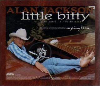 Little Bitty 1996 single by Alan Jackson