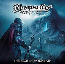 "Album cover for ""The Eighth Mountain"", twelfth studio album by Rhapsody of Fire.jpg"