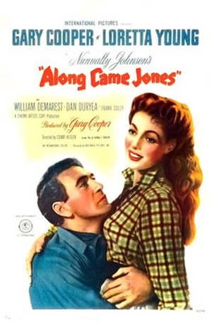 Along Came Jones (film) - Theatrical poster
