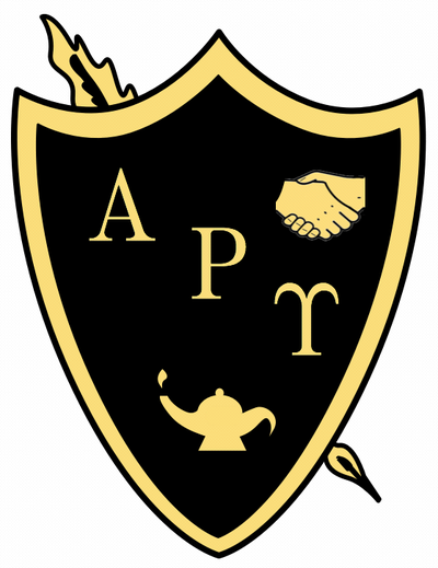 letter after upsilon defunct fraternities and sororities wikivisually 22764 | 400px Alpha rho upsilon seal
