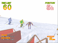 Screenshot of Alpine Racer 2