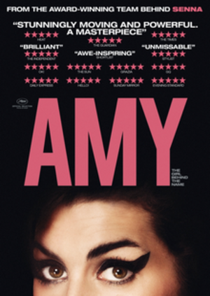 Amy (2015 film) - British theatrical release poster