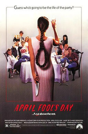 April Fool's Day (1986 film) - Theatrical release poster