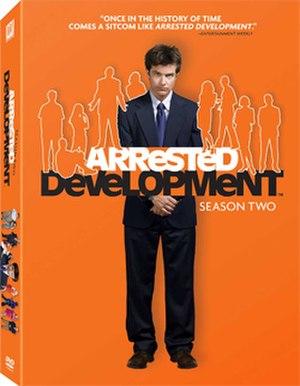 Arrested Development (season 2) - Image: Arrested Development S2 DVD