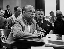 Arthur B. McBride testifying before the Kefauver Committee, 1951.jpg