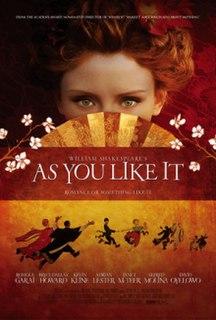 <i>As You Like It</i> (2006 film) 2006 film by Kenneth Branagh