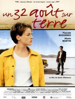 <i>August 32nd on Earth</i> 1998 film