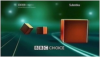BBC Three idents - An example of the Three Boxes