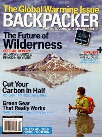 Backpacker (magazine) - Image: Backpacker magazine