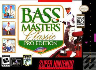 Bass Masters Classic: Pro Edition - North American cover art