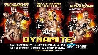 Bellator MMA & Glory: Dynamite 1 - Image: Bellator MMA & Glory Dynamite poster