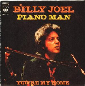 Piano Man (song) - Image: Billy Joel Piano Man single