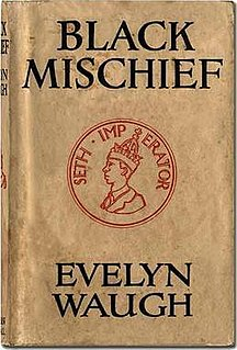 <i>Black Mischief</i> book by Evelyn Waugh