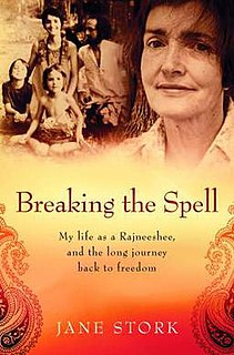 <i>Breaking the Spell: My Life as a Rajneeshee and the Long Journey Back to Freedom</i> book written by a follower of Osho, Indian swami