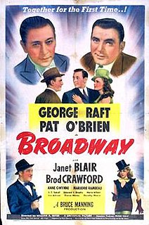 <i>Broadway</i> (1942 film) 1942 film by William A. Seiter