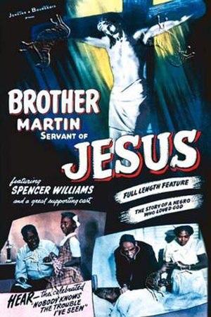 Brother Martin: Servant of Jesus - Poster art