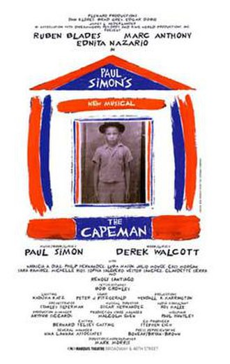 The Capeman - Image: Capeman Poster