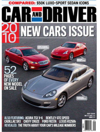 Car and Driver - Car and Driver, September 2009