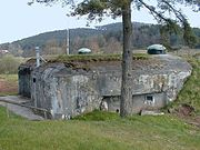 Casemate de Dambach Nord - The frontage