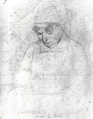 Catherine Blake - Catherine Blake, c. 1805, by William Blake