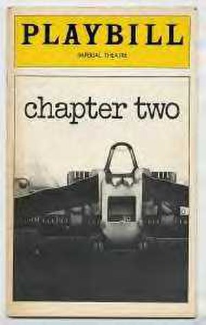 Chapter Two (play) - Playbill cover
