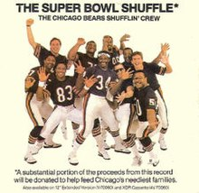 The Chicago Bears team on the Super Bowl Shuffle cover