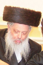 Grand Rabbi Pinchos Dovid Horowitz of Chust-Borough Park