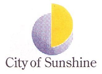 City of Sunshine - Image: City of Sunshine Logo