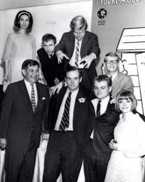 You're a Good Man, Charlie Brown - Clark Gesner with director Joseph Hardy and the original 1967 cast of You're a Good Man, Charlie Brown