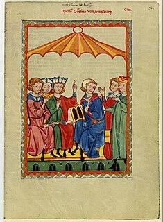 Gottfried von Strassburg medieval German poet