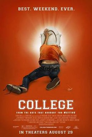 College (2008 film) - Theatrical release poster