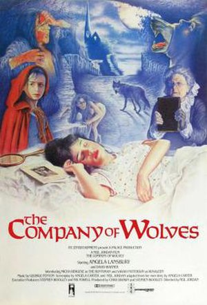 The Company of Wolves - Theatrical release poster