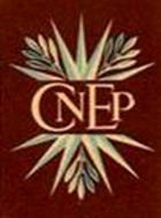 Comptoir national d'escompte de Paris - Image: Comptoir national d'escompte de Paris logo