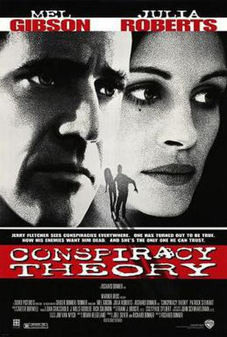 Conspiracy Theory (film) - Image: Conspiracy theory poster
