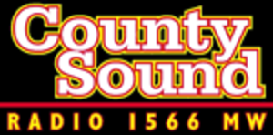 County Sound Radio (1566 AM) - Image: County Sound Radio logo