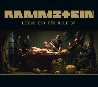 <i>Liebe ist für alle da</i> 2009 rock album by the German band Rammstein