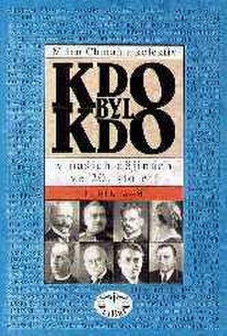 Kdo byl kdo - Cover of the first volume