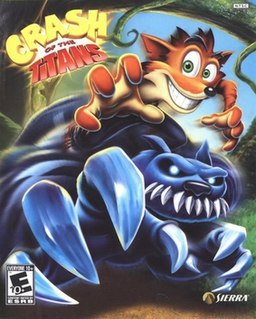 <i>Crash of the Titans</i> 2007 video game